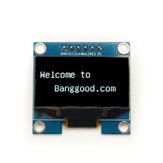 1.3 Inch 6Pin 12864 SPI Interface White OLED LCD Display Module For Arduino