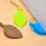 Creative Colorful Leaf Safety Door Stopper Home Door Decoration