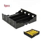 5pcs DIY 4-Slot 18650 Battery Holder With Pins