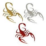 3D Scorpion Shape Badge Emblem Logo Decal Car Truck Auto Motor Decor Sticker