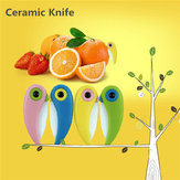 4Pcs Bird Folding Mini Ceramic Knife Vegetable Fruit Paring Knives