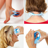 Original Fingertip Vibrating Full Body Acupoint Massager Pain Stress Relief Twin Touch Points Relaxation
