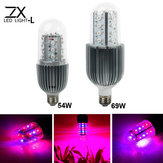 ZX 360 Degree 54W 69W E27 LED Plant Growth Corn Lamp Bulb Garden Greenhouse Plant Seedling Light