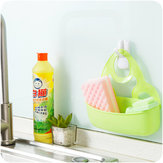 Hanging Drain Bag Basket Sponge Holder Bathroom Storage Gadget Tools Kitchen Sink Organizer
