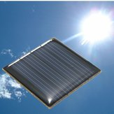 2V 0.14W 70MA 40 x 40 x 3.0mm Polycrystalline Silicon Solar Panels Epoxy