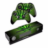 Full Cover Vinyl Decal Skin Sticker For Xbox ONE Console With 2 Controllers Sticker