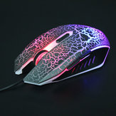 USB Wired Optical Gaming 800 1200 1600 DPI Mouse With Breath Light