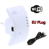 China Wholesale 300M Wireless N WPS Wifi Repeater 802.11N Router Expander EU Plug