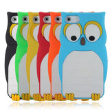 Owl Pattern Designed Soft Silicone Case Cover Skin For iPhone 5