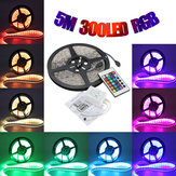 China Wholesale 5M 5050 RGB Waterproof 300 LED Strip Light 12V DC 24 Key IR Controller