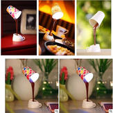 LED Coffee Lamp Cup USB Battery Dual Night Light DIY Table Lamp