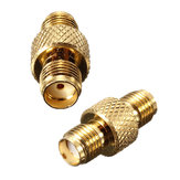 Alloy Steel SMA To SMA Female Jack Straight RF Connector Adapters