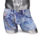 Men's Breathable Underwear Imitation Cowboy Soft Boxers