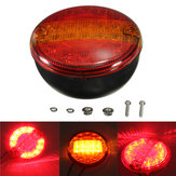 Universal LED Combination Rear Tail Stop Indicator Light Round