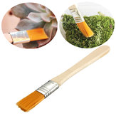 Wooden Handle Soft Brush Clean Tools For Micro Landscape Plants