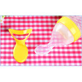 Baby Infant Silicone Spoon Feeding Milk Bottle Rice Cereal Food Supplement
