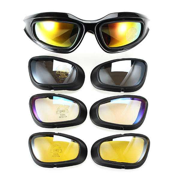 Military Tactical Goggles Motorcycle Riding Glasses