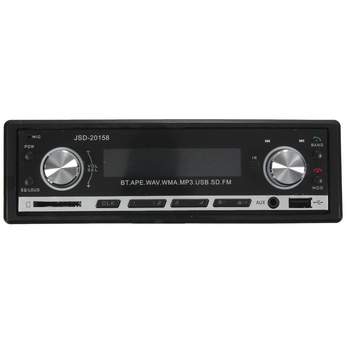 JSD-20158 Bluetooth Vehicle Car MP3 Player