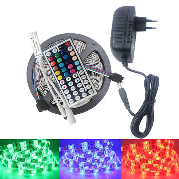 5M SMD5050 Non-Waterproof RGB 150 LED