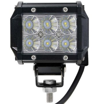 4 Inch 18W LED Work Light Bar Lamp for Car Truck Off Road