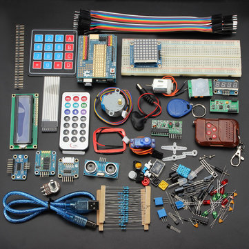 Geekcreit® Deluxe UNO R3 Basic Kit Starter Learning Kit For Arduino