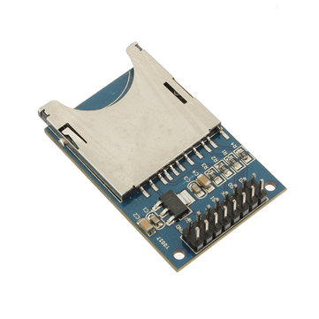 10Pcs Slot Socket Reader SD Card Module For Mp3 Arduino Compatible