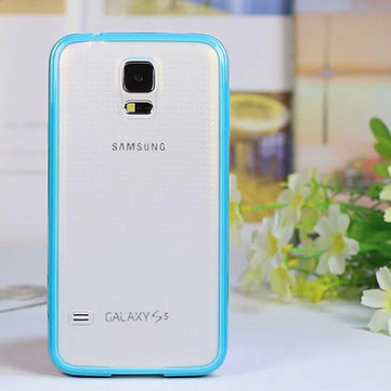 Transparent Ultra Thin Protective Back Case For Samsung S5 I9600