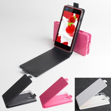 Magnetic Up And Down Flip Pu Leather Case For InFocus M210