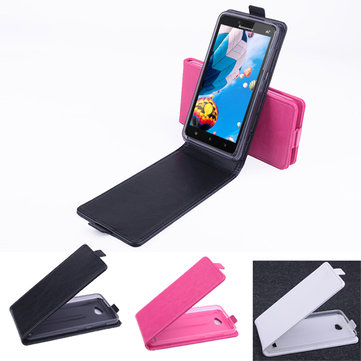 Up-down PU Flip Leather Protective Case For Lenovo A768t