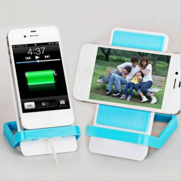 Silicone Slip-resistant Phone Holder For Mobile Phone Pad