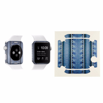 38mm Full Body Skin Back Side Wrap Film Cover Sticker For Apple Watch