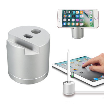 Detachable Aluminum Charging Dock Station Stand Holder For Apple Pencil iPhone iPad Mini