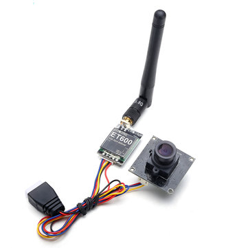Eachine 800tvl CCD 148 Degree FPV Camera Lens w/ 5.8G 600mW Transmitter