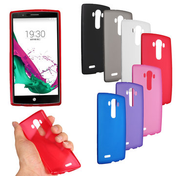 Ultra Slim Color Durable Matte Soft TPU Gel Back Cover Case Skin for LG G4