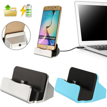 Micro USB Desktop Charger Sync Data Dock Cradle Stand Station For Android Phone