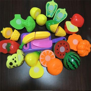 9pcs frutas piezas de corte de