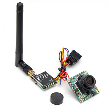 Eachine CCD 700tvl 148 Degree Camera Lens w/ 5.8G 200mW FPV Transmitter