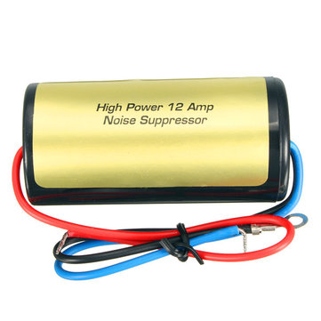 12V Car Stereo Radio Audio Power Wire Engine Noise Filter Suppressor Isolator