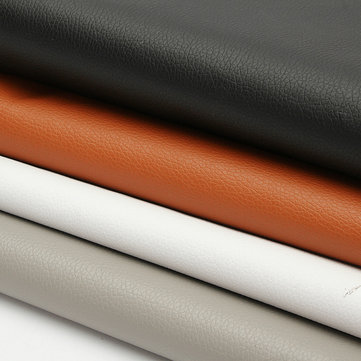 PU Leather Lychee Leather Fabric Sewing Upholstery For Car Interior Decoration Modification