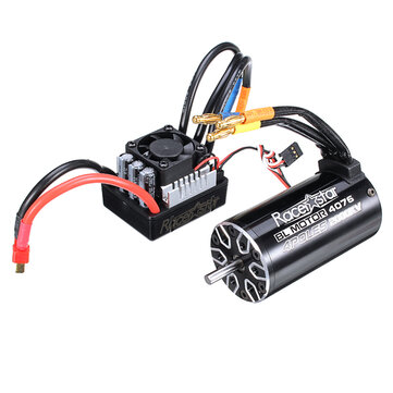 Buy Racerstar 4076 Brushless Waterproof Sensorless Motor 2000KV 120A ESC 1/8 Cars RC Car Parts
