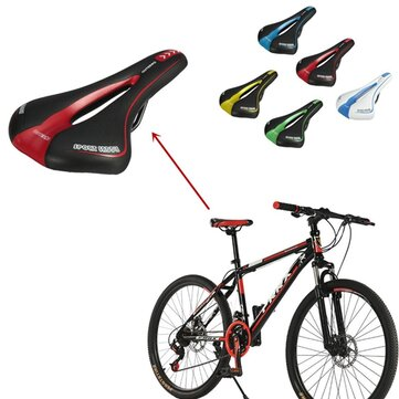 Image of Professional Road MTB Gel Comfortable Saddle Bicycle Seat Cycling Cushion Pad