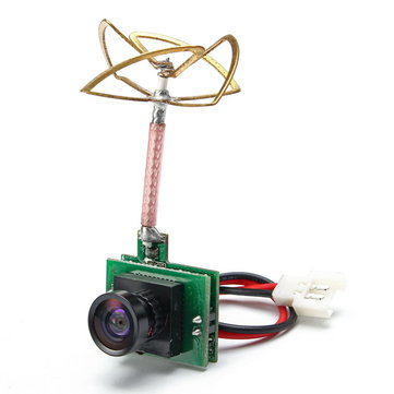 Realacc TX48 AIO 1/4 CMOS 1000TVL Micro FPV Camera Integraded 48CH 5.8G 25MW Transmitter 3.7-10V
