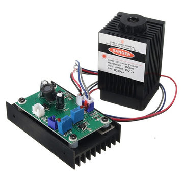 EleksMaker® LA03-3500 450nm 3.5W Blue Laser Module With TTL Modulation for DIY Laser Cutter Engraver