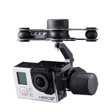 Upgrade Debugging Edition JIYI FPV G3-3D 3 Axis Gimbal For Gopro Hero3 3+ Hero4 Aerial Photography