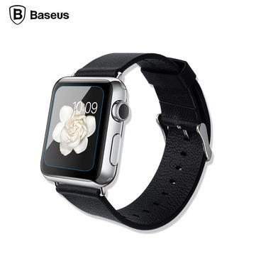 Baseus 0.15mm 9H HD Curved Edge Tempered Glass 2.5D Screen Protector For Apple Watch 38/42mm