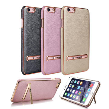 G-CASE Premium PU Leather Stand Shell Cover Case For iPhone 6 Plus 6s Plus 5.5 Inch