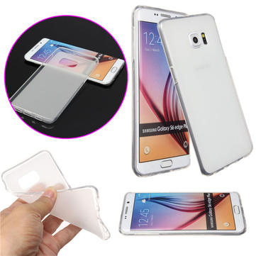 Soft Durable Gel TPU Jelly Back Case Cover Skin For Samsung Galaxy S6 Edge Plus