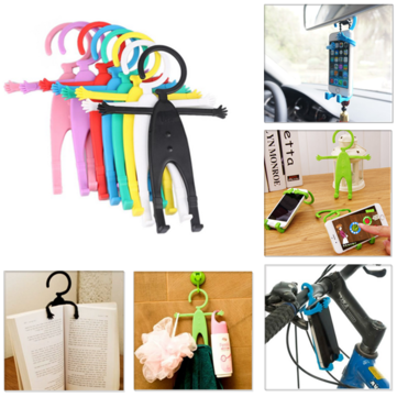 Universal Silicone Flexible Multi-functional Mobile Phone Stands Holder
