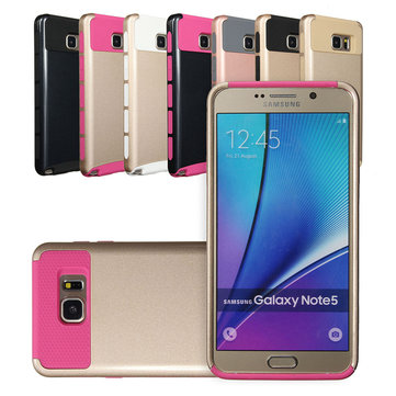 Color Mix TPU+PC Two-in-one Case Back Cover/Skin Bumper For Samsung Galaxy Note 5