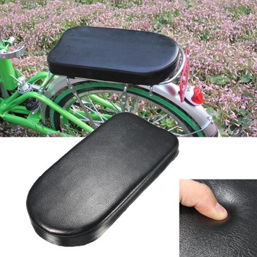 Image of 31.5 x 15 x 3.8 cm Comfortable Cycling Bike Bicycle Cycle Saddle Soft Cushion Rear Rack Seat Cover Pad